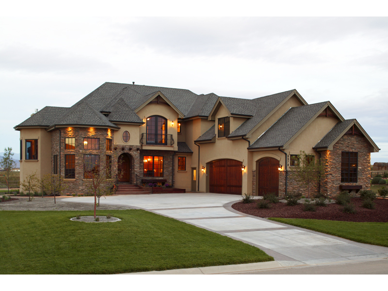 Murillo Rustic European Home Plan 101S 0007