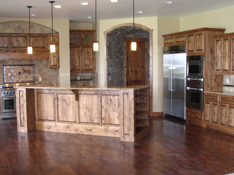 Mountain Home Plan Kitchen Photo 01 - 101S-0011 | House Plans and More