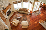 European House Plan Family Room Photo 02 - 101S-0012 | House Plans and More