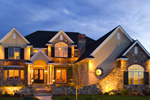 European House Plan Front of Home - 101S-0012 | House Plans and More