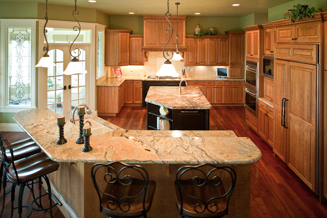 European House Plan Kitchen Photo 01 101S-0012