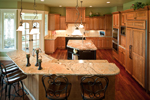 Country French House Plan Kitchen Photo 01 - 101S-0012 | House Plans and More