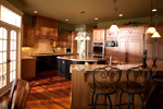 European House Plan Kitchen Photo 04 - 101S-0012 | House Plans and More