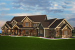 Traditional House Plan Front of Home - 101S-0013 | House Plans and More