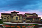 Santa Fe House Plan Front of Home - 101S-0014 | House Plans and More