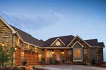 Rustic Home Plan Front Photo of House - 101S-0015 | House Plans and More