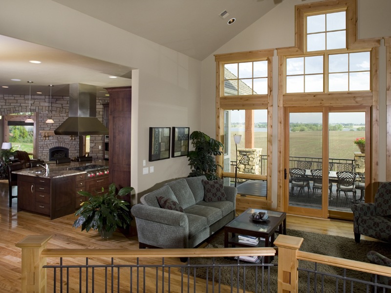 Ranch House Plan Great Room Photo 01 101S-0015
