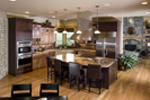 Shingle House Plan Kitchen Photo 01 - 101S-0015 | House Plans and More