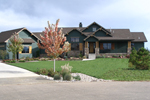 Ranch House Plan Front of Home - 101S-0016 | House Plans and More