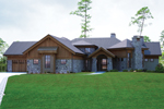 Ranch House Plan Front of Home - 101S-0017 | House Plans and More