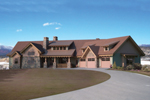 Ranch House Plan Front of Home - 101S-0018 | House Plans and More