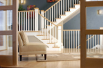 Shingle House Plan Stairs Photo - 101S-0019 | House Plans and More