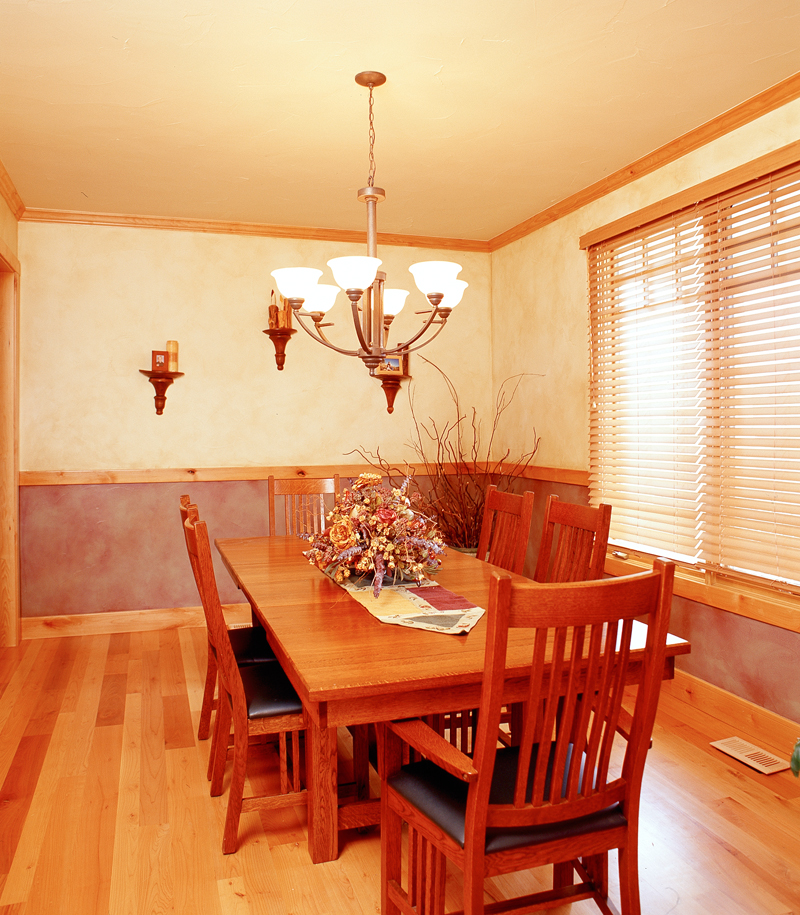 Arts and Crafts House Plan Dining Room Photo 01 - 101S-0020 | House Plans and More