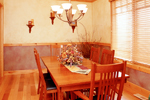 Mountain Home Plan Dining Room Photo 01 - 101S-0020 | House Plans and More
