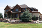 Mountain Home Plan Front of Home - 101S-0020 | House Plans and More