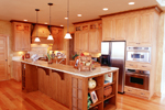 Mountain Home Plan Kitchen Photo 01 - 101S-0020 | House Plans and More