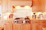 Mountain Home Plan Kitchen Photo 03 - 101S-0020 | House Plans and More