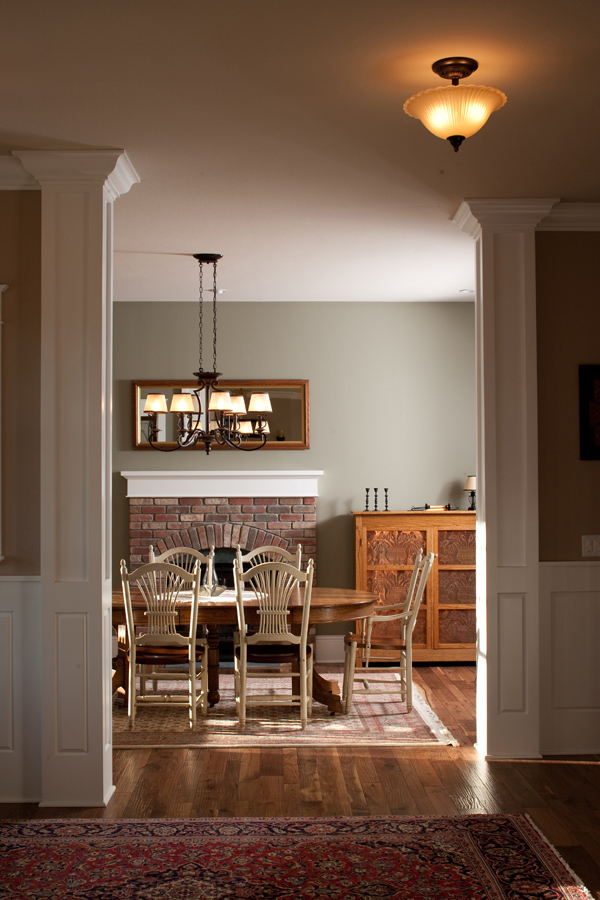 English Tudor House Plan Dining Room Photo 01 101S-0023