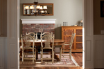 Arts and Crafts House Plan Dining Room Photo 01 - 101S-0023 | House Plans and More