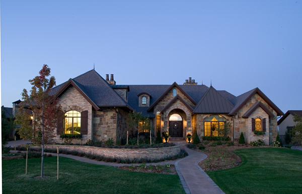 Eagle view luxury home plan 101s 0024 house plans and more - Luxery home plans gallery ...