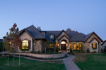 Ranch House Plan Front of Home - 101S-0024 | House Plans and More
