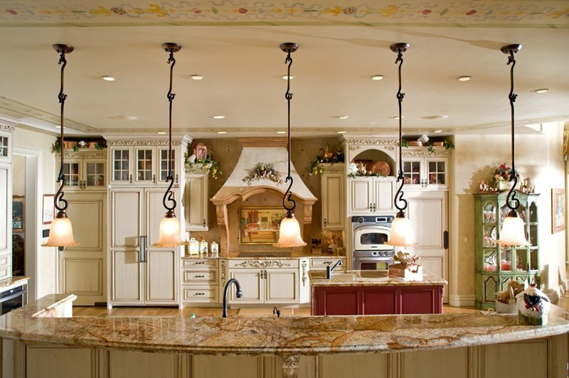 Tudor House Plan Kitchen Photo 01 Eagle View Luxury Home