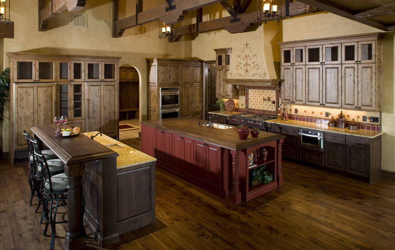 Rustic Home Plan Kitchen Photo 01 101S-0025