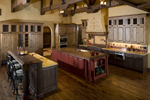Rustic Home Plan Kitchen Photo 01 - 101S-0025 | House Plans and More