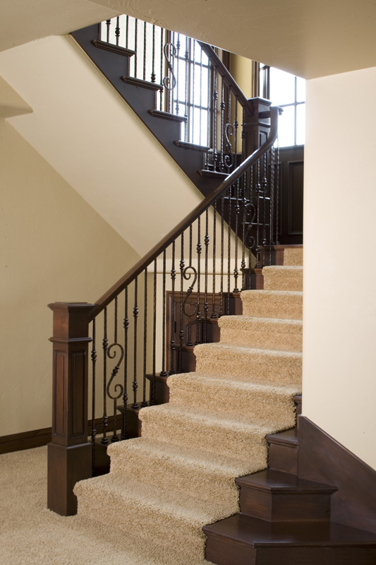 European House Plan Stairs Photo - 101S-0025 | House Plans and More
