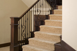 Rustic Home Plan Stairs Photo - 101S-0025 | House Plans and More