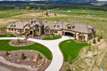 European House Plan Aerial View Photo 01 - 101S-0026 | House Plans and More