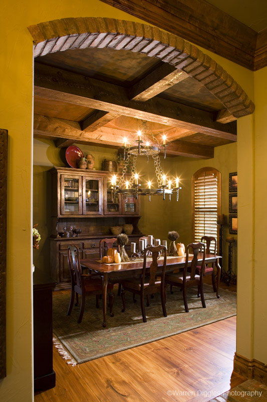 European House Plan Dining Room Photo 01 101S-0026