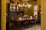 European House Plan Dining Room Photo 01 - 101S-0026 | House Plans and More
