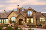 Luxury House Plan Front of Home - 101S-0026 | House Plans and More