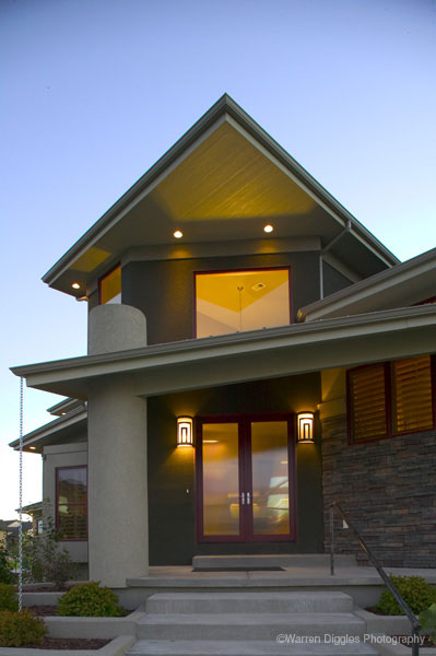 Contemporary House Plan Door Detail Photo 101S-0027