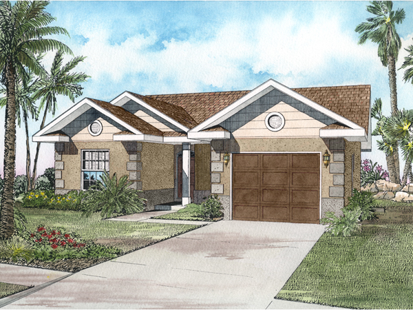 Moreno Small Ranch Home Plan 106D-0007 | House Plans And More