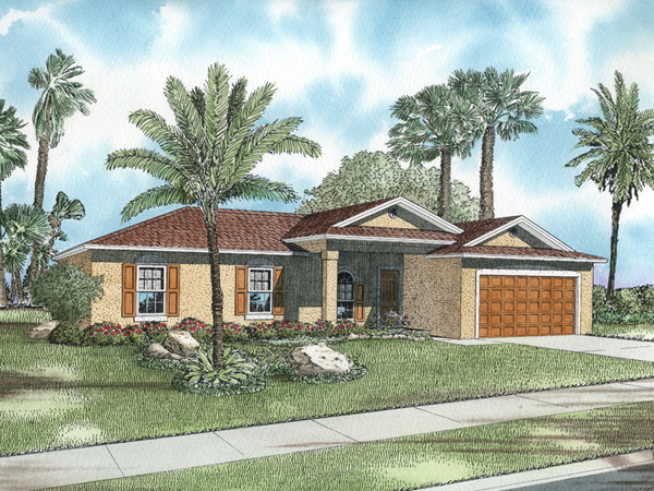 Lavender hill southwestern home plan 106d 0008 house for Small southwestern house plans