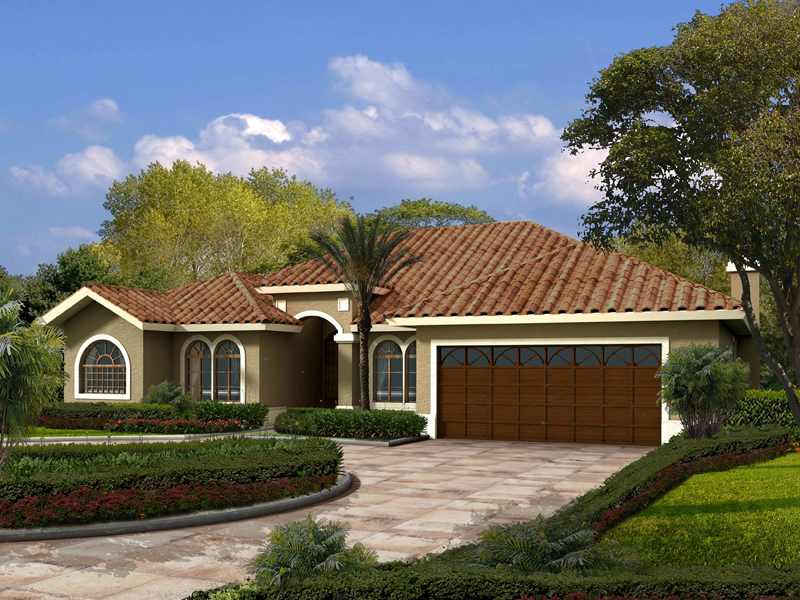 Floridian-Styled Ranch With Elegant Features