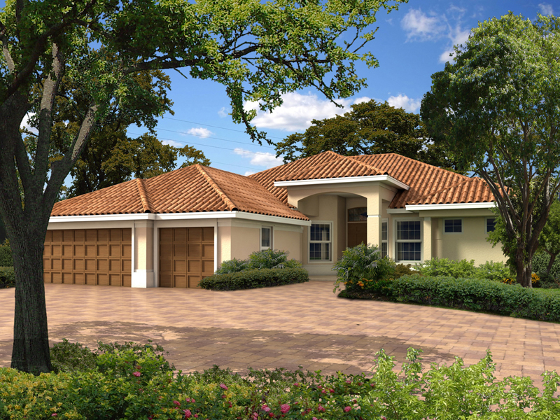 Camino del tienda santa fe home plan 106d 0039 house for Santa fe home design
