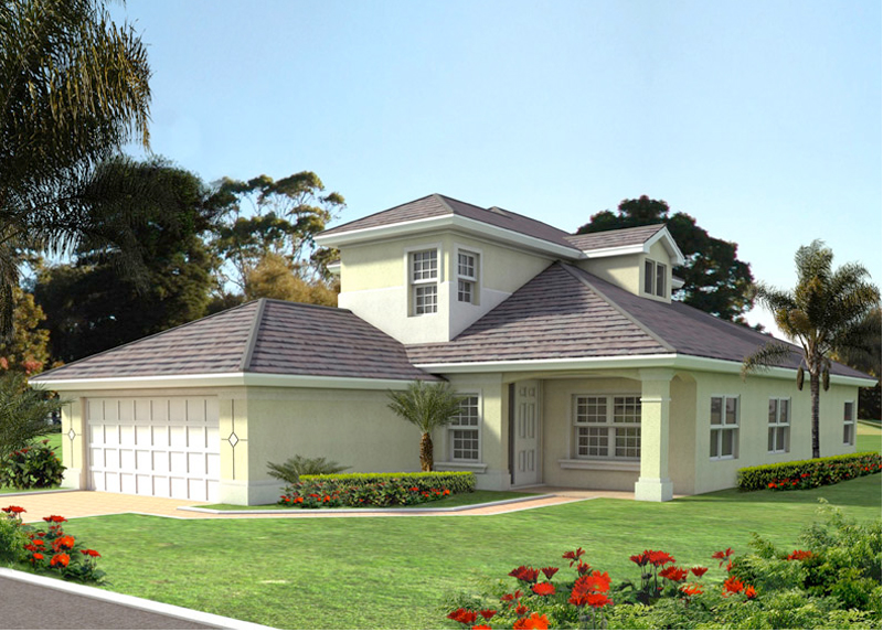 Vacation House Plan Front of Home - 106D-0046 | House Plans and More