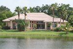 Florida House Plan Rear Photo 02 - 106S-0005 | House Plans and More