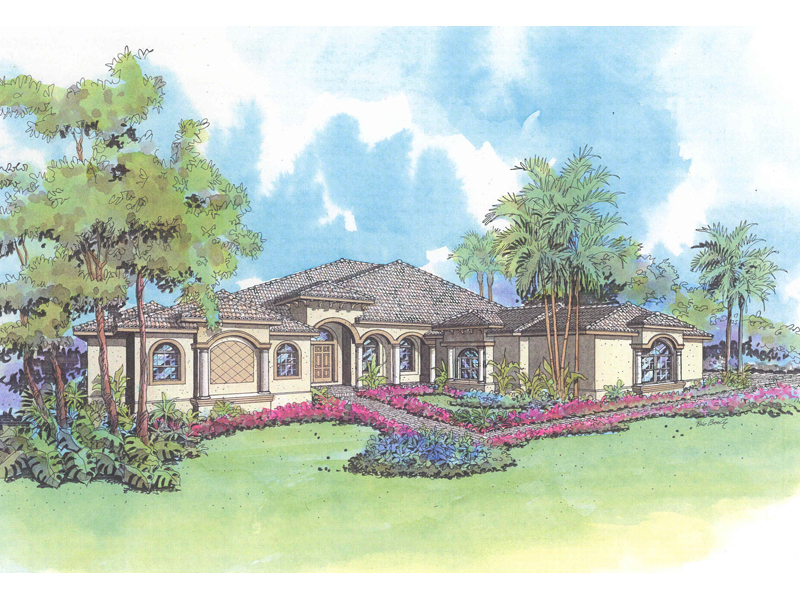 Sprawling Luxury Stucco Home Great For Sunbelt