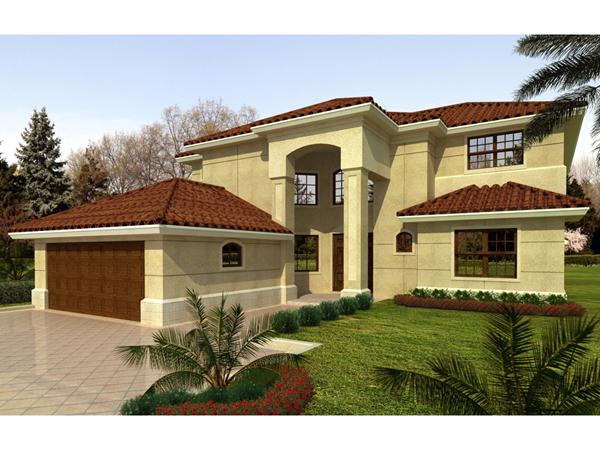 Terra cela santa fe style home plan 106s 0016 house for Santa fe style homes
