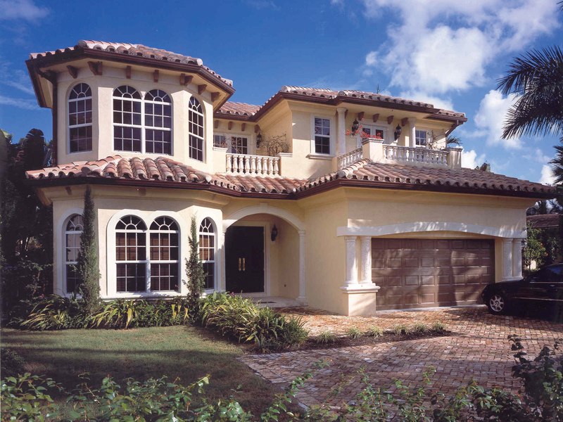 Rollins hill luxury home plan 106s 0025 house plans and more for Two story florida house plans