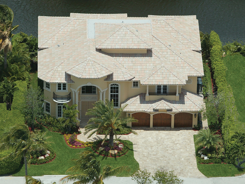Mediterranean House Plan Front of Home 106S-0035