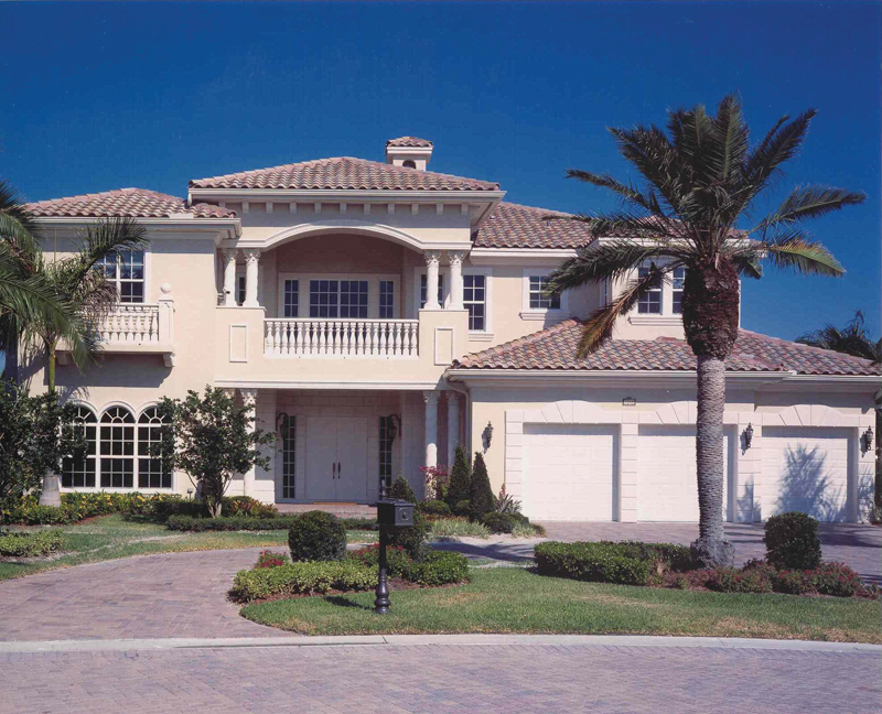 Florida House Plan Front Photo 02 106S-0039