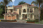 Florida House Plan Front Image - 106S-0041 | House Plans and More
