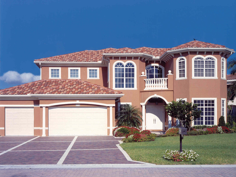 Florida House Plan Front of Home 106S-0042