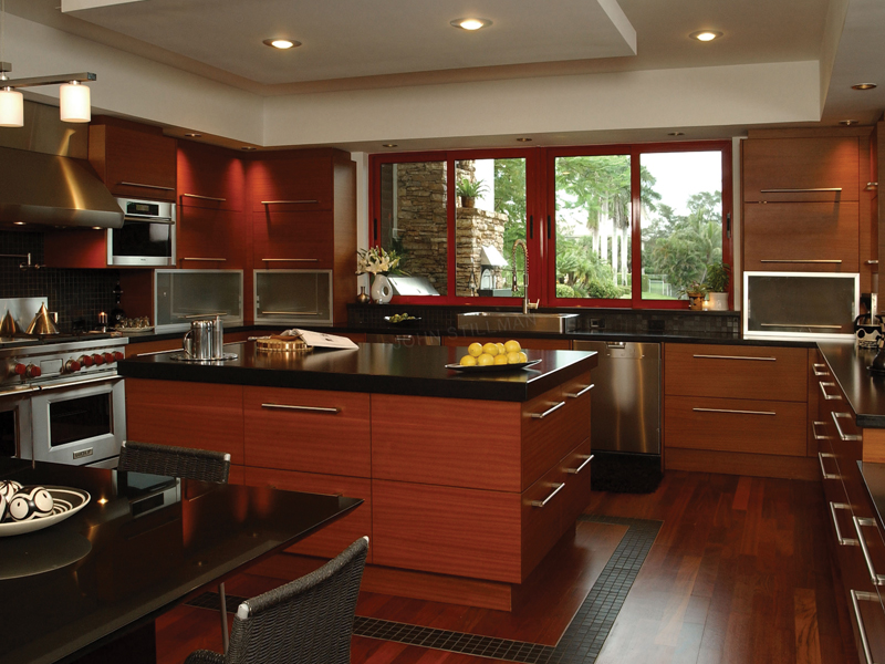 Modern House Plan Kitchen Photo 01 106S-0046