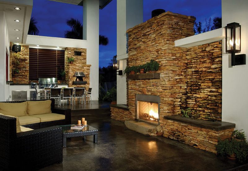 Sunbelt Home Plan Outdoor Living Photo 01 106S-0046